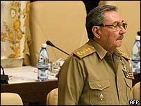 Ra�l Castro en la Asamblea.