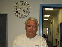 Roy Parmentier, alcalde de Lakeport.