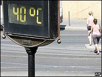 Termómetro en Budapest
