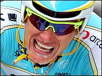 Alexandre Vinokourov, who has tested positive for blood doping