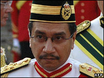 The King of Malaysia, Sultan Mizan Zainal Abidin (June 2007)