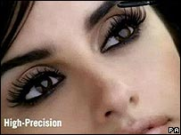 Penelope Cruz in the L'Oreal advert