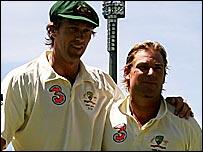 McGrath and Warne