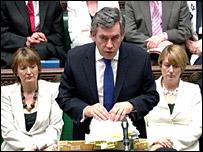 Harriet Harman, Gordon Brown and Jacqui Smith