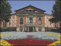 Green Hill, el teatro que construyó Wagner en Bayreuth.