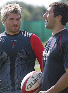 Richard Hibbard and Gavin Henson