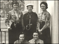 Guides in 1957 (Pic: Girlguiding UK)
