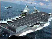 Computer-generated image of one of the carriers