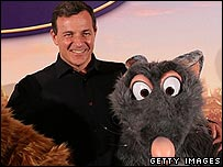 Robert Iger at the Paris launch of Ratatouille