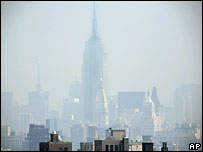 Smog over New York, AP