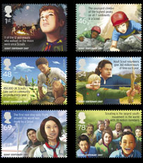 Royal Mail Scouting centenary stamps