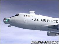 Airborne Laser (ABL)  Image: Boeing