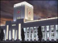 An artist's impression of the Urban Splash redevelopment of the Littlewoods building