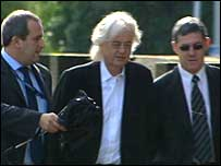 Jimmy Page at court