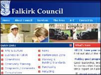 Falkirk Council website