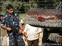 Aftermath of deadly Israeli air strike against Islamic Jihad militants