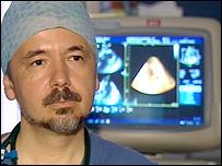 Consultant cardiologist Adrian Ionescu