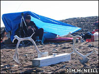 Tent   Image: Jim McNeill