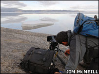 Filming  Image: Jim McNeill