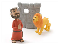 Daniel and the lion (image courtesy of One2believe)