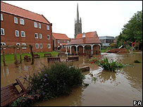 Louth flooded