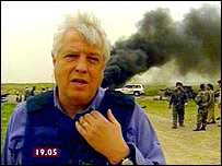 John Simpson, Iraq 2003