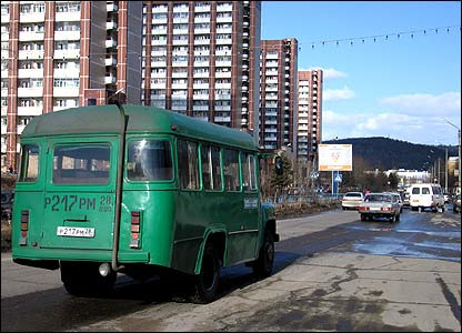 Main street (pic: Artyom Liss, BBCRussian.com)
