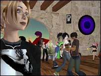 Screenshot from Second Life, Linden Lab