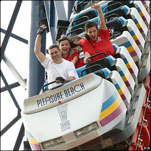 Richard Rodriguez attempts to break the rollercoaster world record of nine days and 12 hours non-stop.