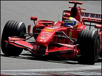 Felipe Massa's Ferrari