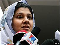 Mohamed Haneef's wife Firdous Arshiya - 27/07/07