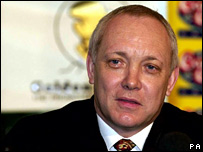 Promoter Frank Maloney in 2001
