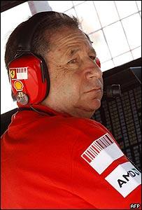 Jean Todt, Director de Ferrari
