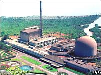 Centro de investigación nuclear Bhabha.