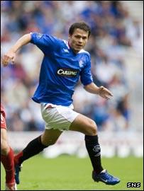 Rangers winger Libor Sionko