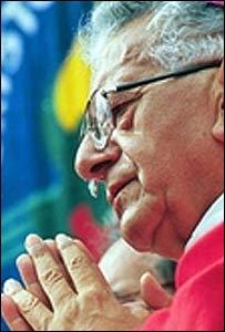 El cardenal boliviano Julio Terrazas.