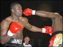 Oyebola beats Clifton Mitchell