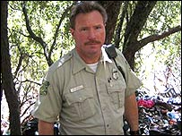 Capitn Kevin Mayer, Servicio Forestal de Estados Unidos.