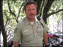 Capit�n Kevin Mayer, Servicio Forestal de Estados Unidos.