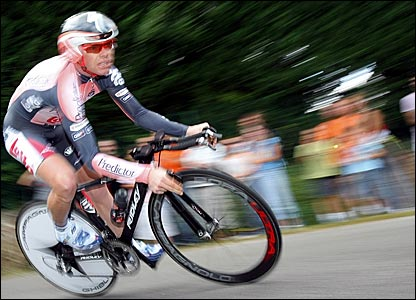 Australia's Cadel Evans