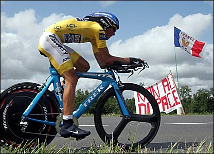 Tour leader Alberto Contador