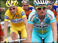 Rasmussen and Vinokourov 