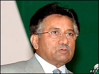 Pakistani President Pervez Musharraf - 19/07/2007