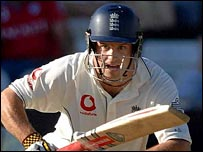 England batsman Andrew Strauss