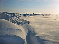 Vista de un paisaje �rtico