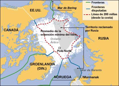Mapa detallado de la región