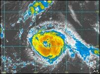 Imagen del huracán Gordon en 2006