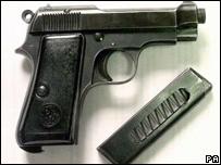 A Beretta pistol