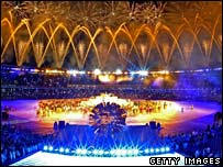 Closing ceremony in Rio's Maracana Stadium