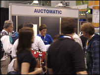 The Auctomatic stand at eBay Live